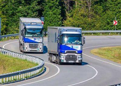 transport rutier camion europa