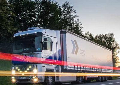 transport international rutier camion